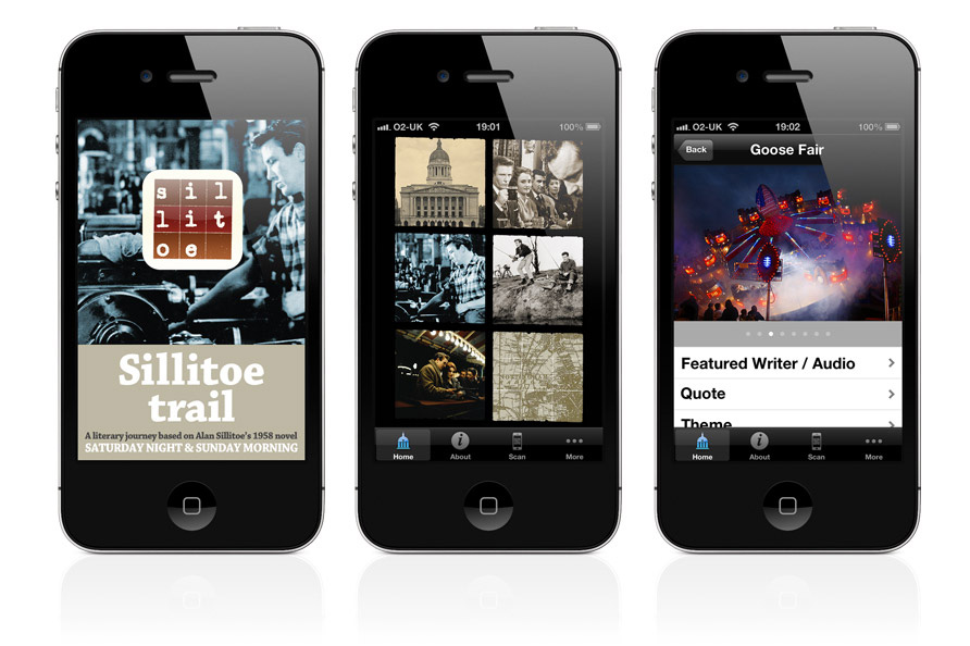 Sillitoe Trail for iPhone App Screens